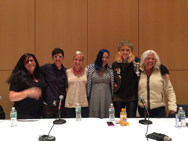 Women and Rock panel, 2015